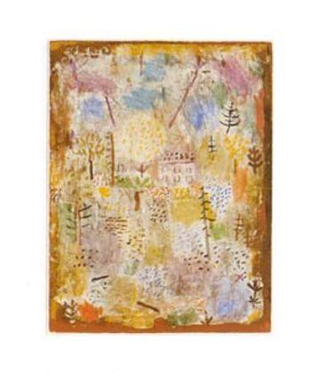 Paul Klee Landschaft zw. Fruehling und Winter