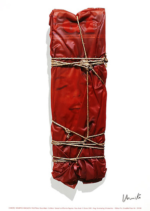 Christo Wrapped Magazine signiert