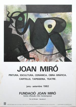 Joan Miro Fundació Joan Miró, 1982
