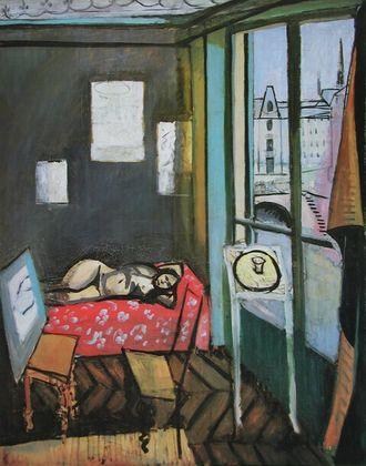 Henri Matisse Akt im Studio  Quai At Michel (Fauvism)