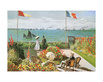 Monet claude terazza sul mare a saint adresse medium