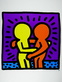 Haring keith two men medium