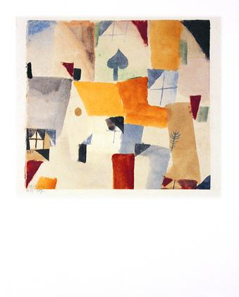 Paul Klee Fenster, 1919