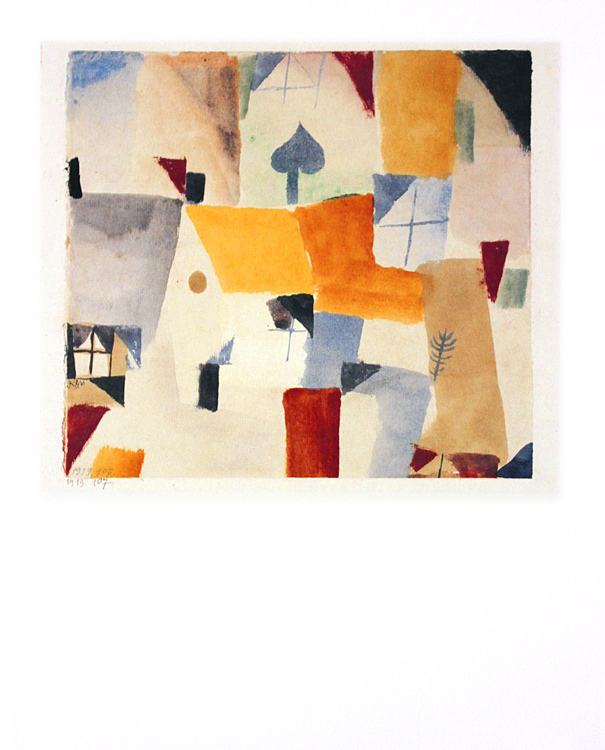 paul klee fenster 1919 poster kunstdruck bei. Black Bedroom Furniture Sets. Home Design Ideas