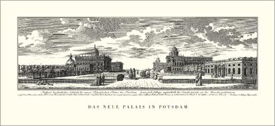 Potsdam Das neue Palais in Potsdam  1770