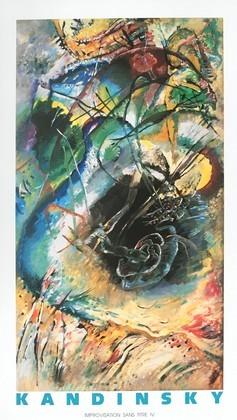 Wassily Kandinsky Improvisation Sans Titre IV