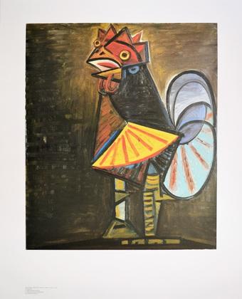 Pablo Picasso Der Hahn