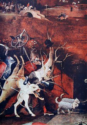 Hieronymus Bosch Chor der Rachegeister