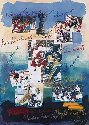 James Hussey Ice Hockey (Klein)