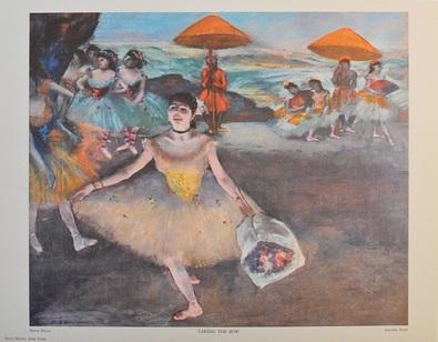 Edgar Degas Die Verbeugung