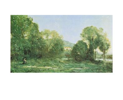 Jean Baptiste Camille Corot Etang a ville d'Avray