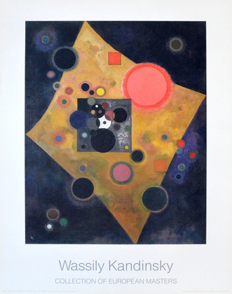 Wassily Kandinsky Akzent in rosa