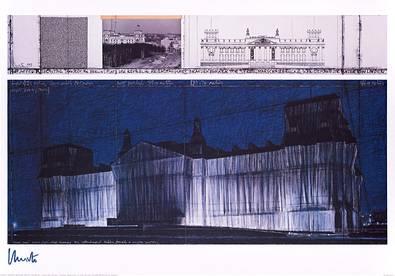 Christo und Jeanne-Claude Reichstag VII
