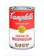 Warhol andy campbell s soup i 1968 cream of mushroom medium