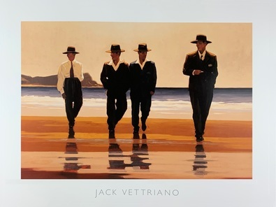 Jack Vettriano The Billy Boys