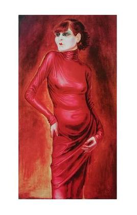 Otto Dix Bildnis der Taenzerin Anita Berber