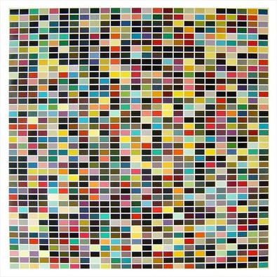 Gerhard Richter 1025 Farben