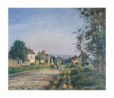 Camille Pissarro Landscape at Louvisiennes (mittelgross)