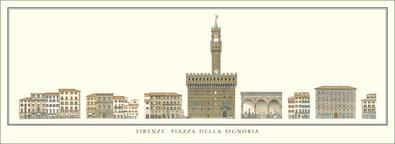 unbekannter Kuenstler Florenz, Piazza della Signoria