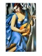 De lempicka tamara dame in blau medium