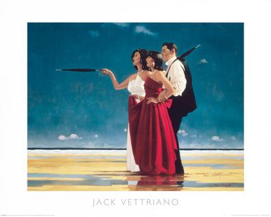 Jack Vettriano The Missing Man I