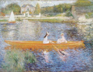 Pierre Auguste Renoir Die Rudernden auf der Seine bei Asnieres