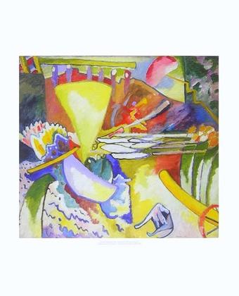 Wassily Kandinsky Improvisation 11