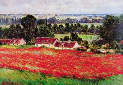 Claude Monet Field of Poppies