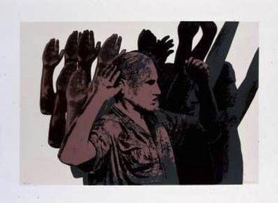 Rafael Canogar La Detencion (1972)