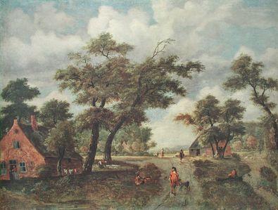 Meindert Hobbema Grosse Landschaft