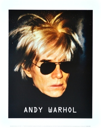 Andy Warhol Self-Portrait with Fright Wig