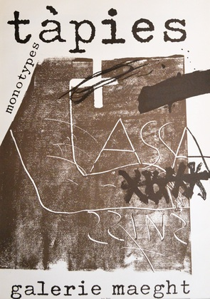 Antoni Tapies Monotypes (1974)
