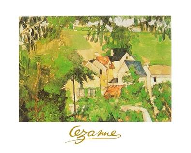 Paul Cezanne Landschaft bei Auvers
