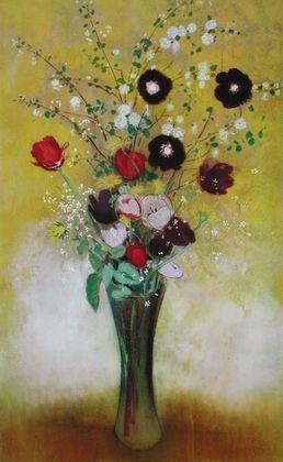Odilon Redon Blumen in einer Vase  1916
