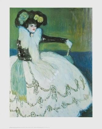 Pablo Picasso Femme en Bleu