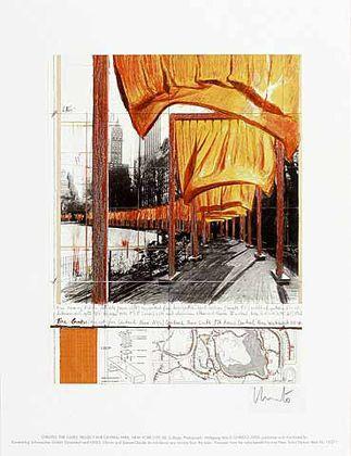 Christo und Jeanne-Claude The Gates XXII