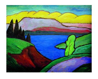 Gabriele Muenter Der blaue See
