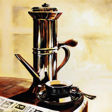 M. Hahmann 3er Set 'Espresso I-III'