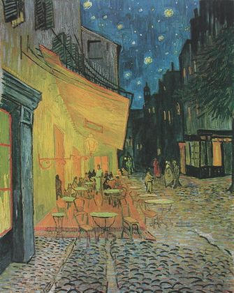 Vincent van Gogh Das Nacht Cafe (Kaffee Terrasse am Abend)