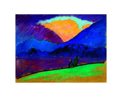Alexej von Jawlensky Sommerabend in Murnau