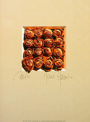 Herve Gambs 3er Set 'Pink Roses' + 'Red Roses' + 'Multicoloured Roses'