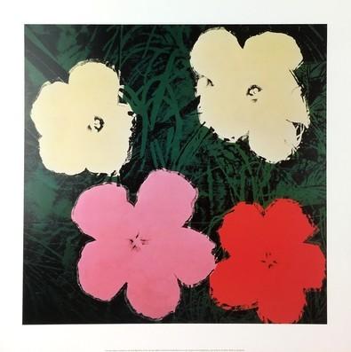 Andy Warhol Flowers III