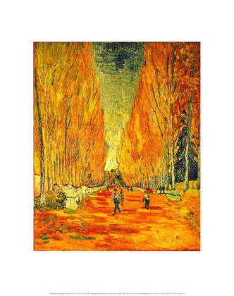 Vincent van Gogh Allee des Alyscamps
