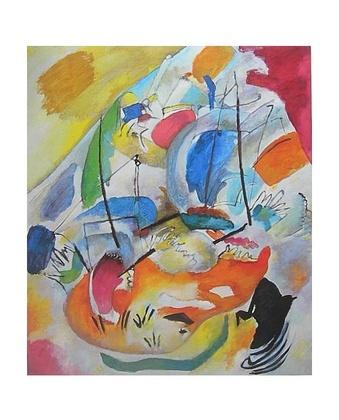 Wassily Kandinsky Improvisation 31 (Seeschlacht)