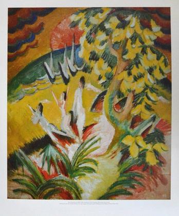 Ernst Ludwig Kirchner Runde Bucht, 1914