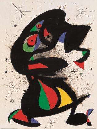 Joan Miro Aufrechte Figur