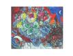 Marc Chagall Blumenstrauß und Verliebt