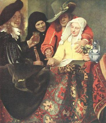 Jan Vermeer Bei der Kupplerin