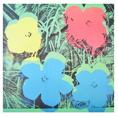 Andy Warhol Ten Foot Flowers