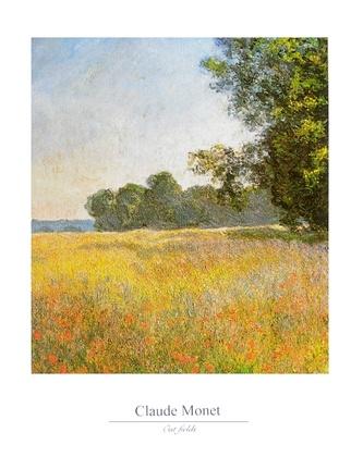 Claude Monet Haferfelder